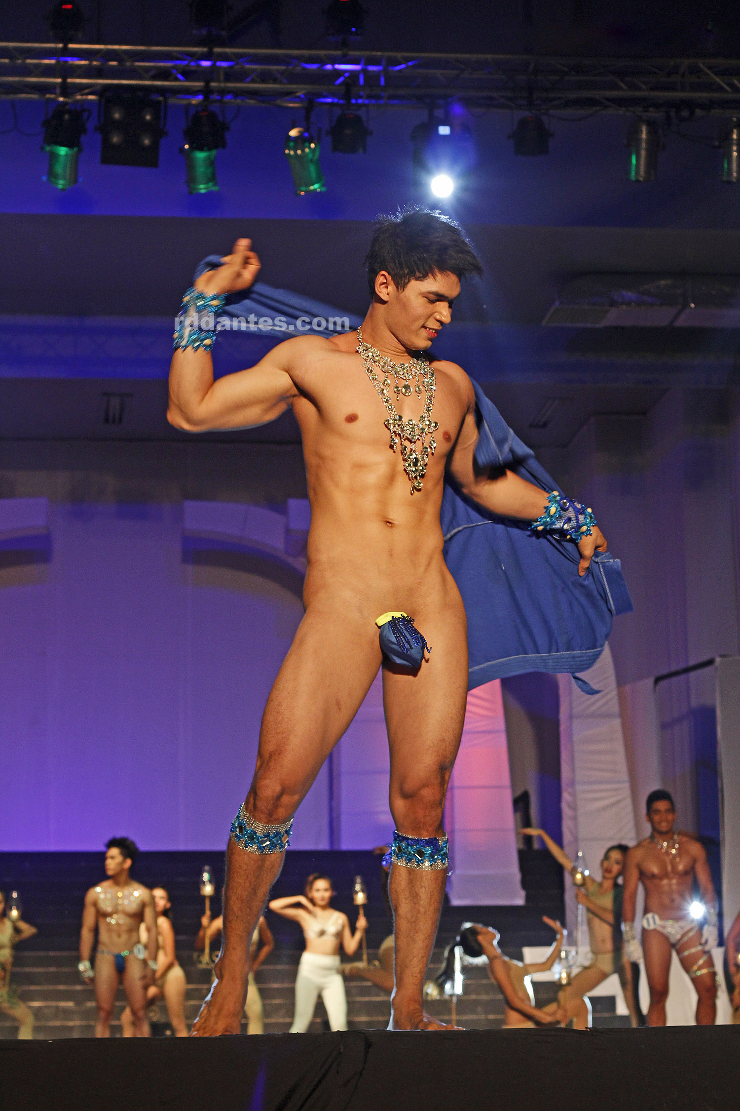 Men bikini contest