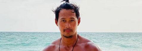 Sun-kissed Eddie Mendez